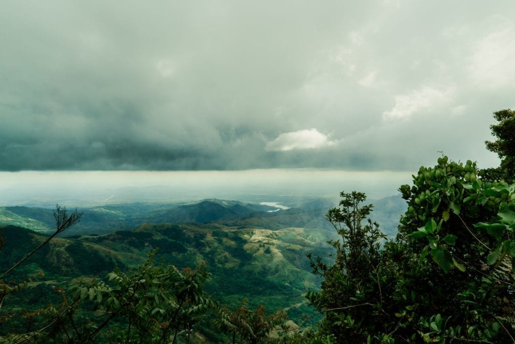 Panama Cloud Rainforest Jungle View