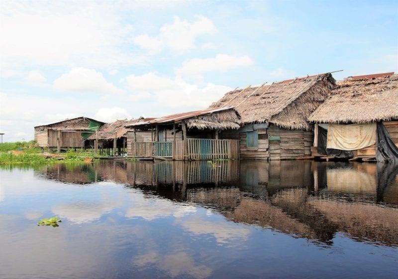 Riverside Settlements in the Peruvian Amazon