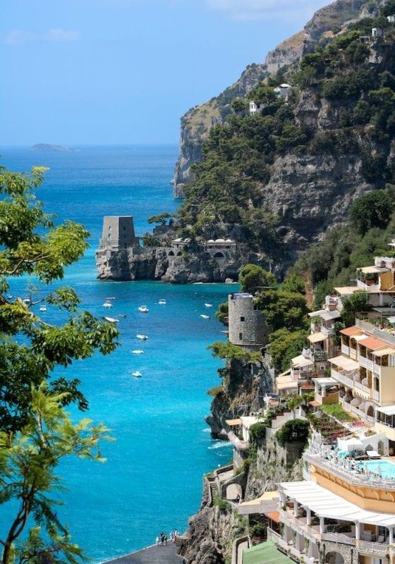 Town Salerno Amalfi Coast Italy
