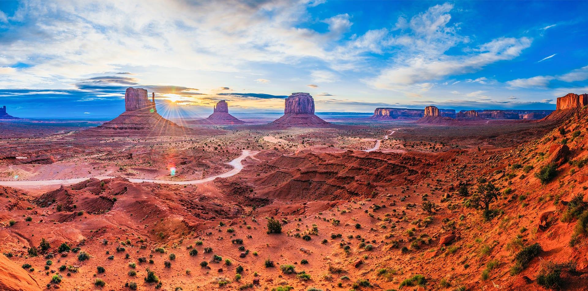 Iconic views on Utah road trip
