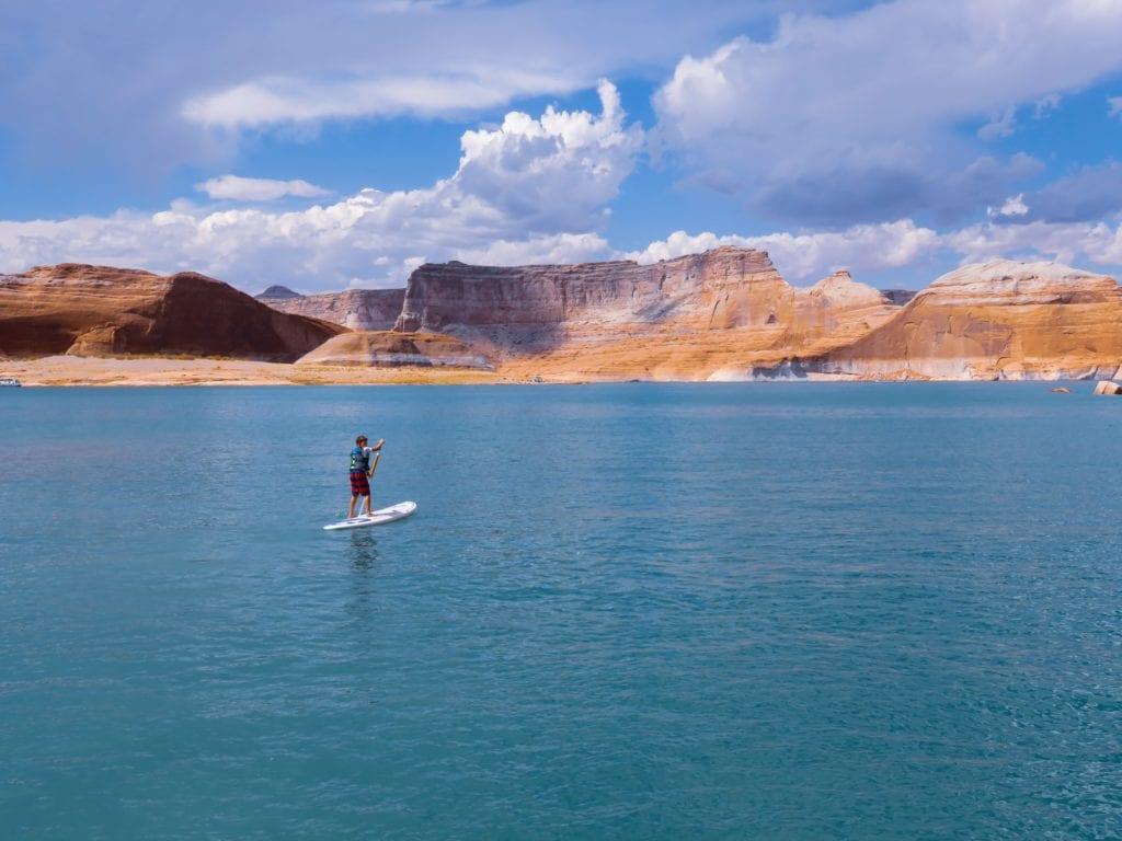 Utah Paddle Board Lake Powell