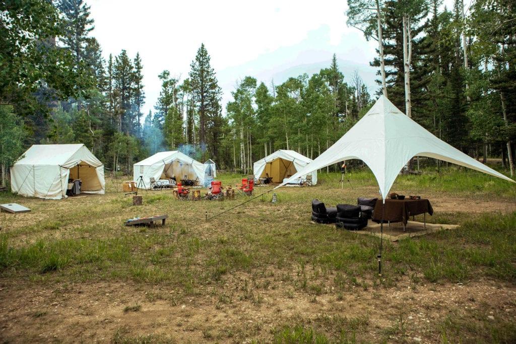 Private camp in Utah