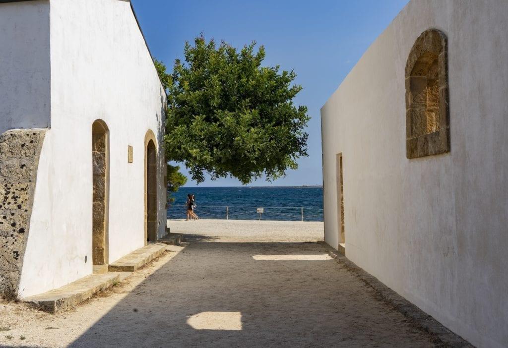 Town Vendicari Italy Ocean