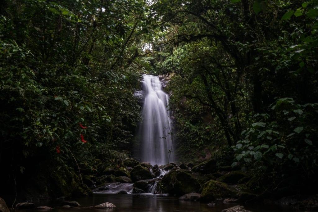 Waterfall Trekking in the Jungle in Panama