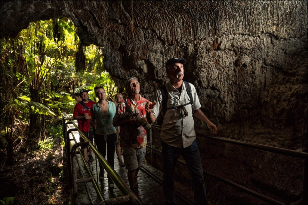 Lava Tube Caves in Hawaii