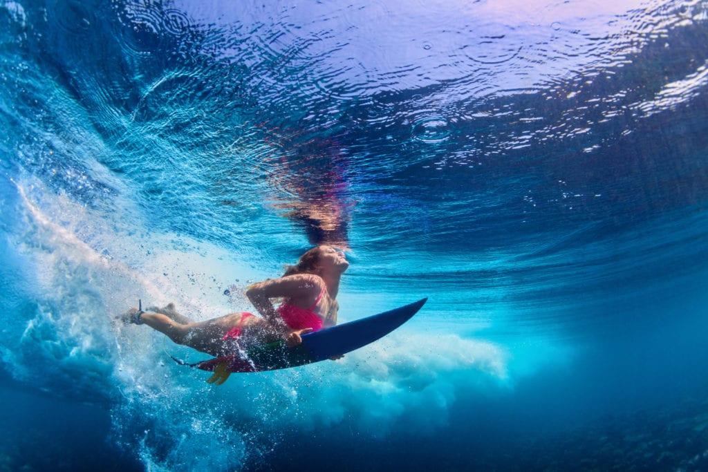 Surfing Lesson in Hawaii