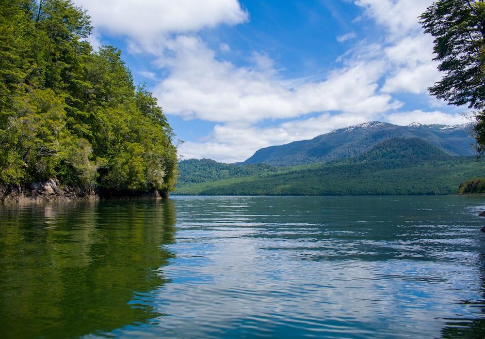 Chile, Puyuhuapi fjords
