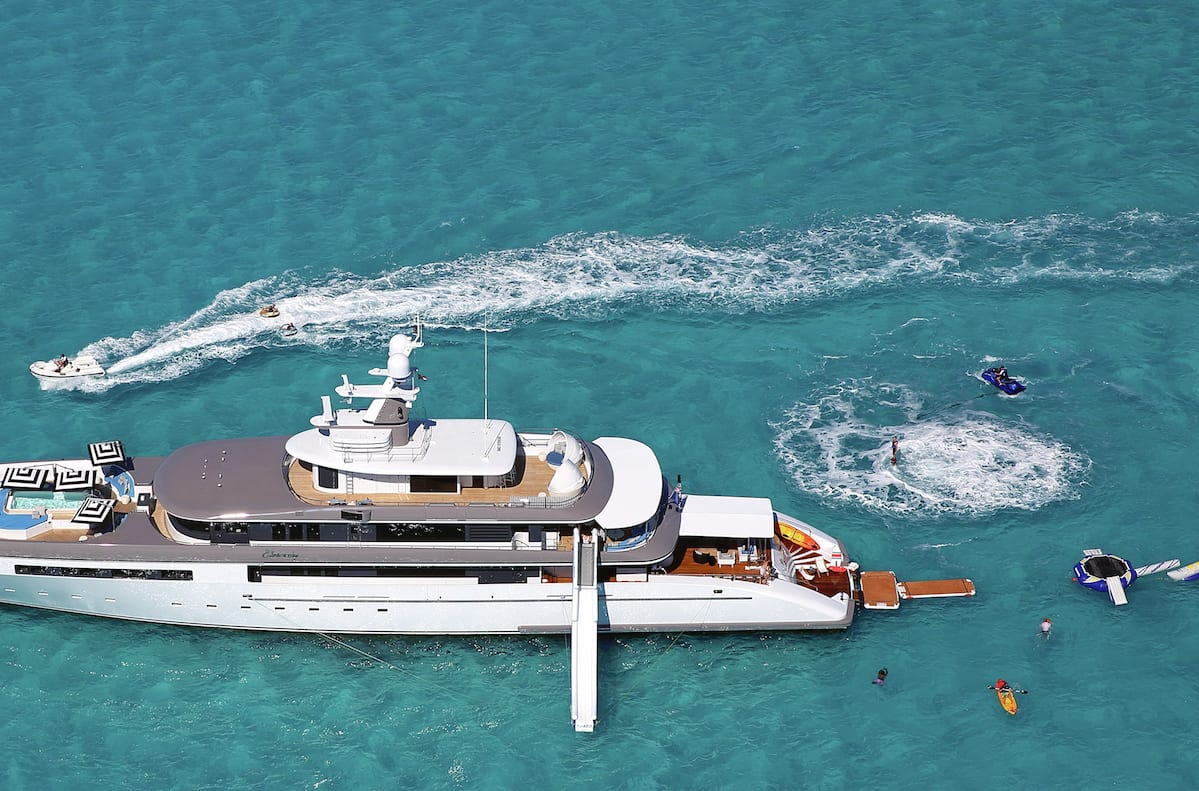 Eternity Yacht Profile Toys and Tenders