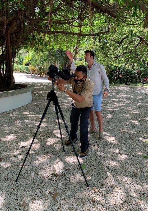 Geordie and Guide, Hugo, Wildlife Spotting, Costa Rica