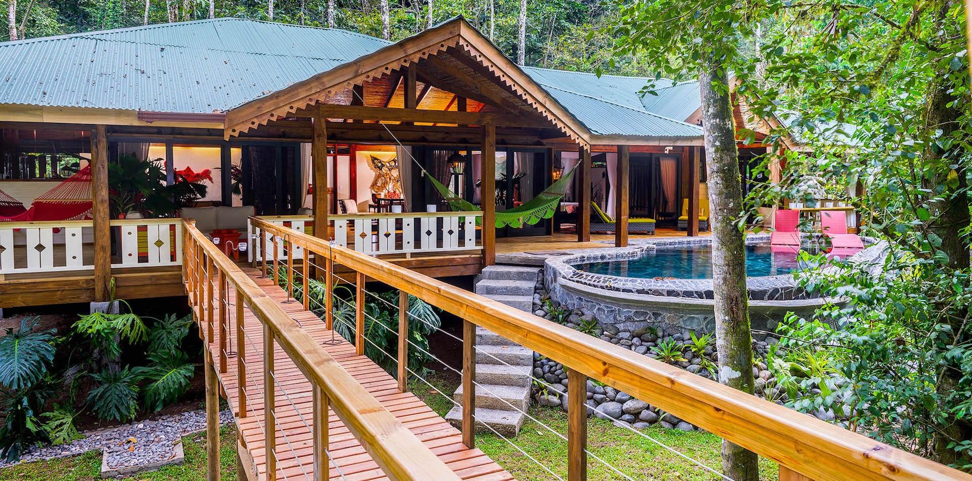 Pacuare Lodge Private Suite Exterior, Costa Rica