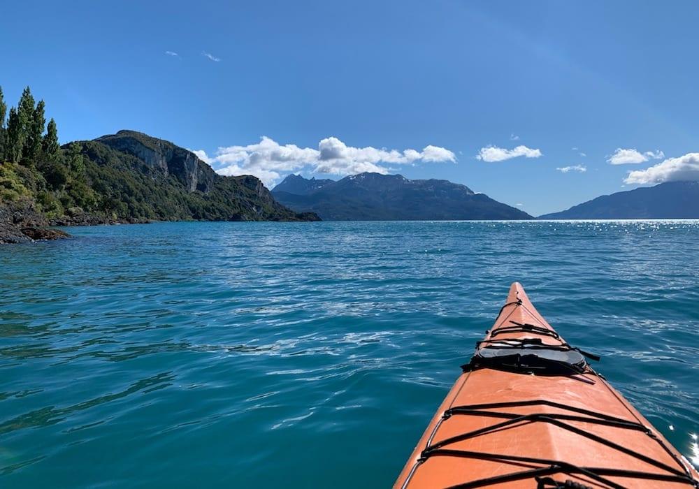Lago Gral Carrera, Kayaking