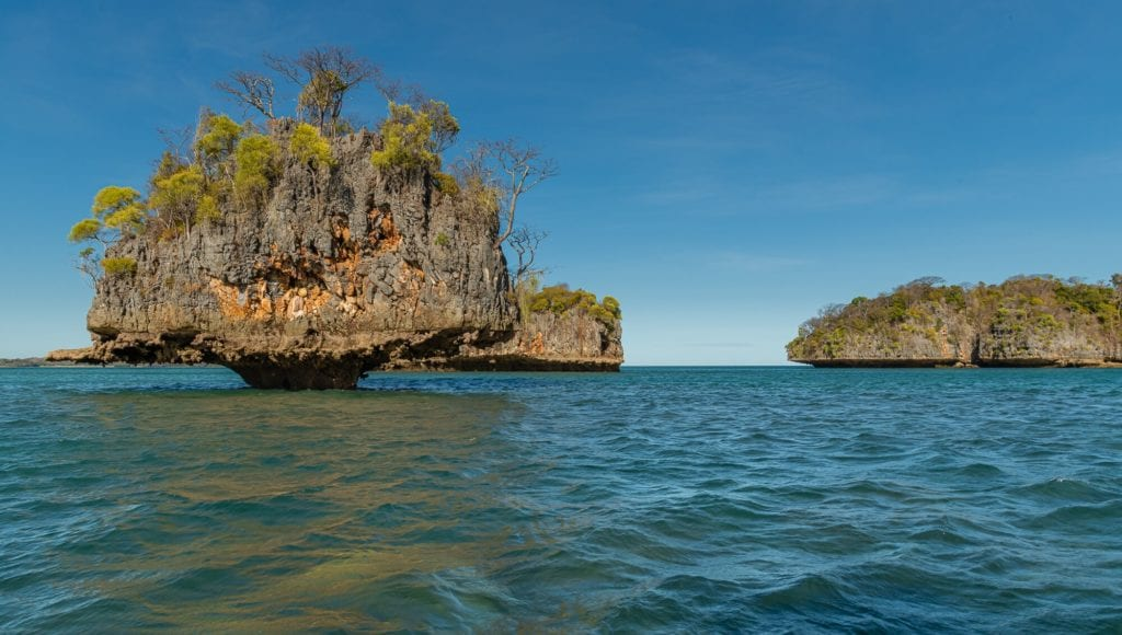 Moramba Bay Island in Madagascar