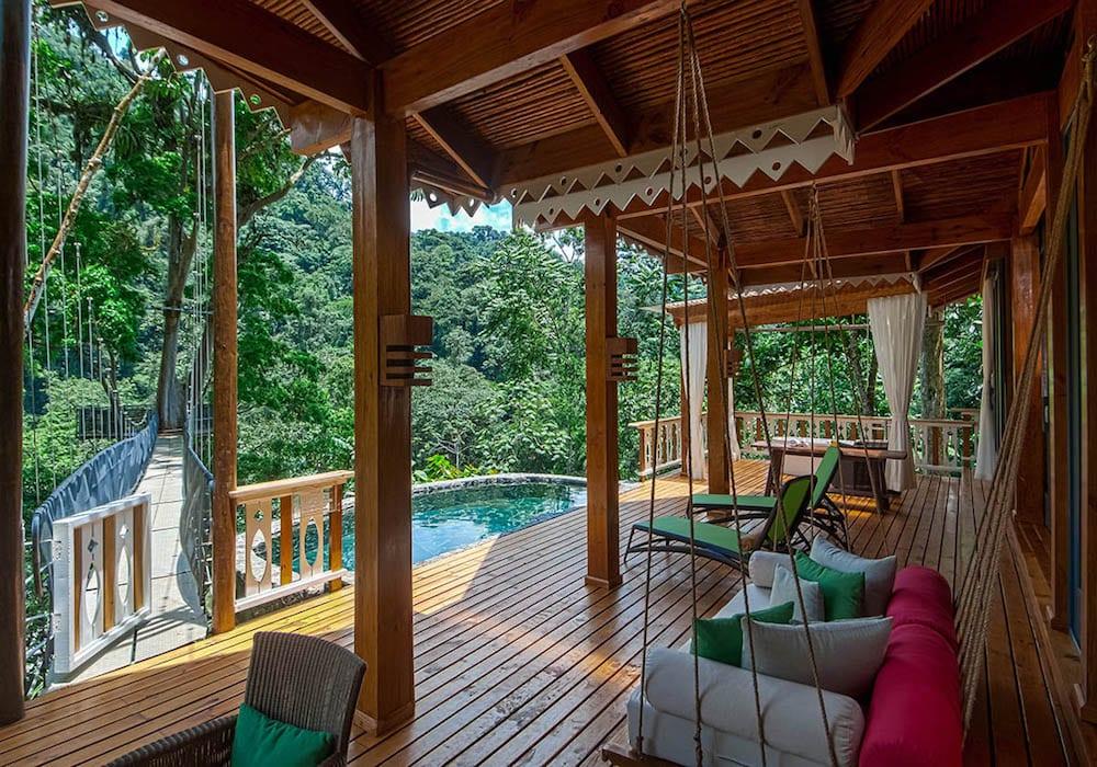 Pacuare Lodge, Canopy Villa Outdoors, Costa Rica