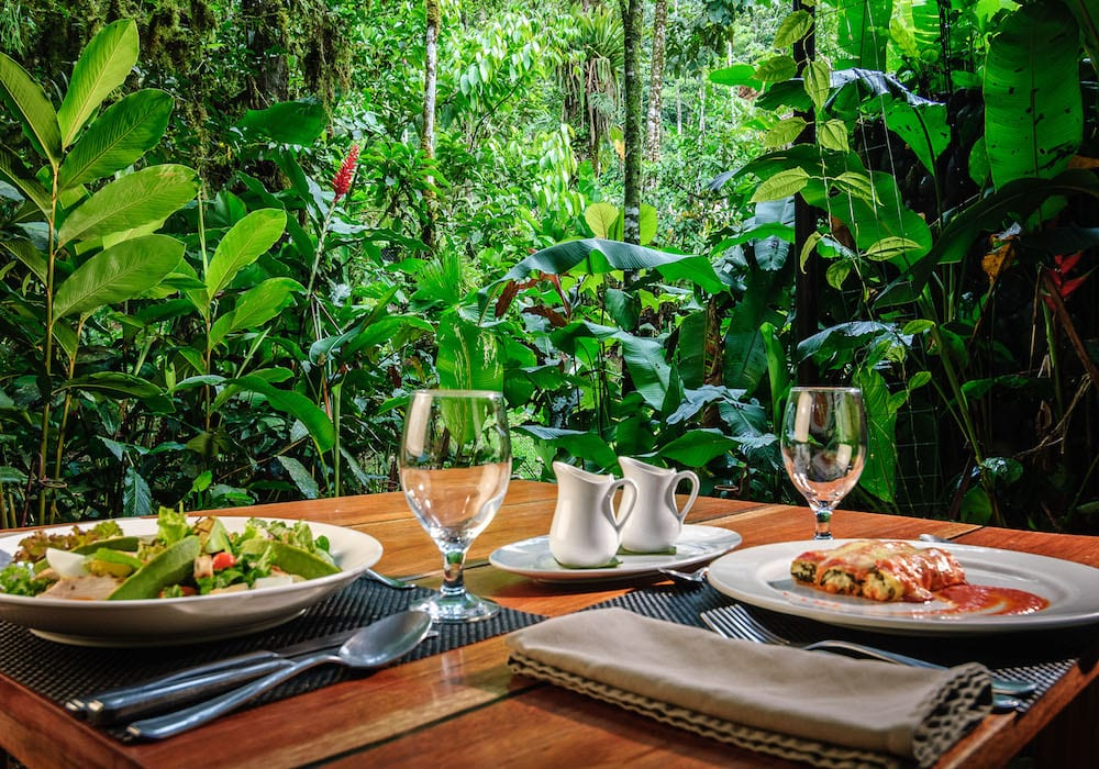 Pacuare Lodge Jungle Dining Experience, Costa Rica