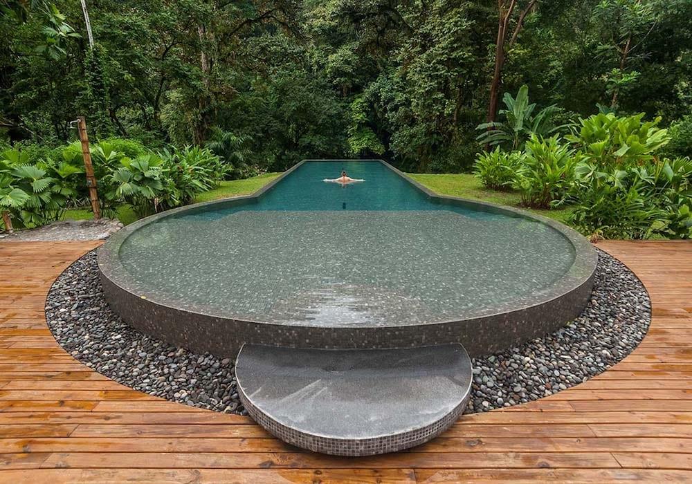 Pacuare Lodge Pool, Costa Rica