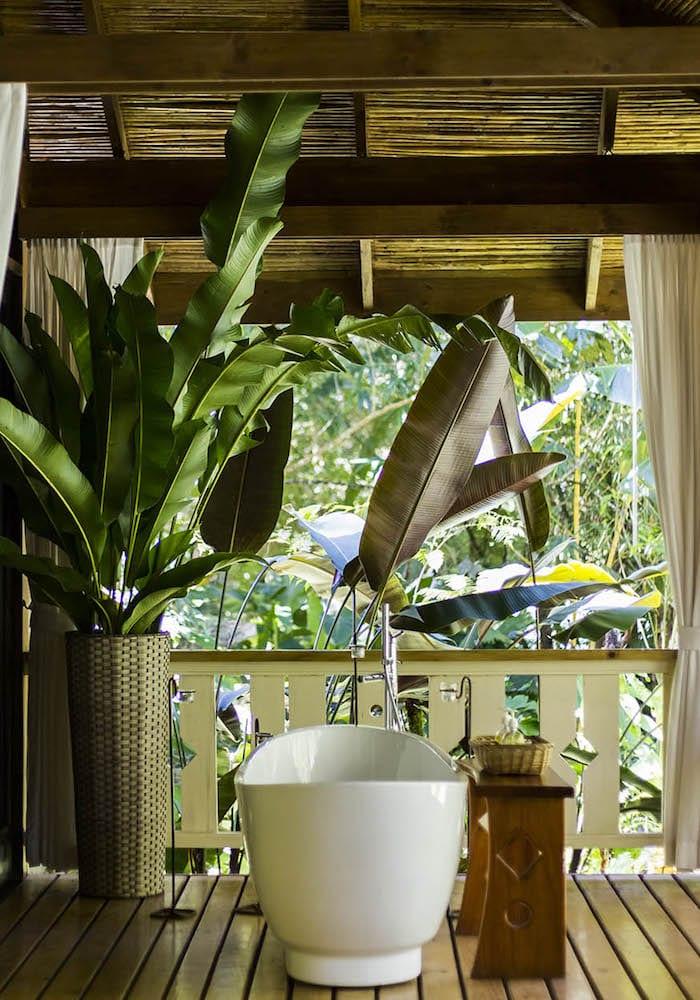 Pacuare Lodge Suite Bathroom, Costa Rica