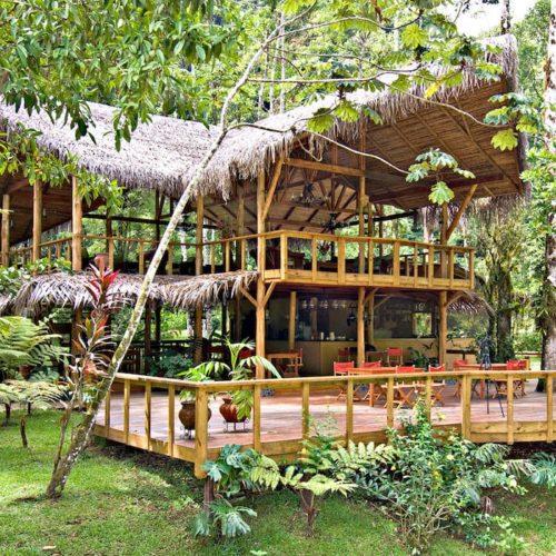 Pacuare Main Lodge Exterior Costa Rica