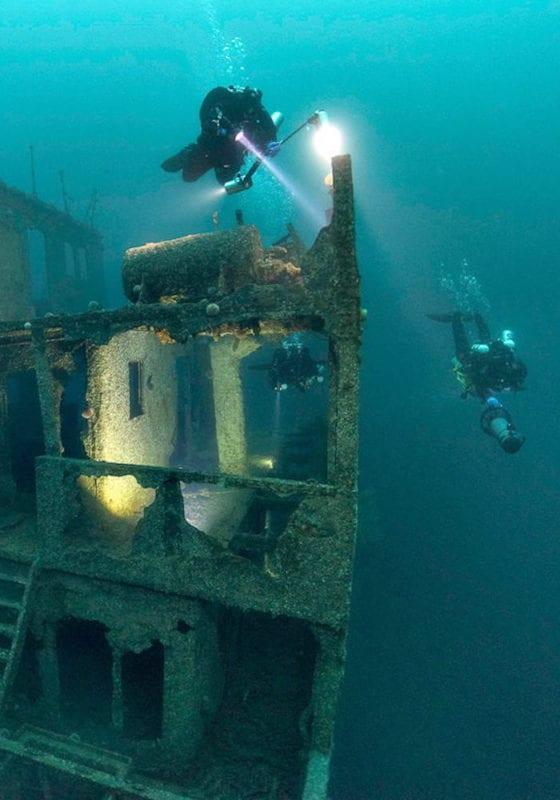 Scuba Dive wrecks, Timor Leste