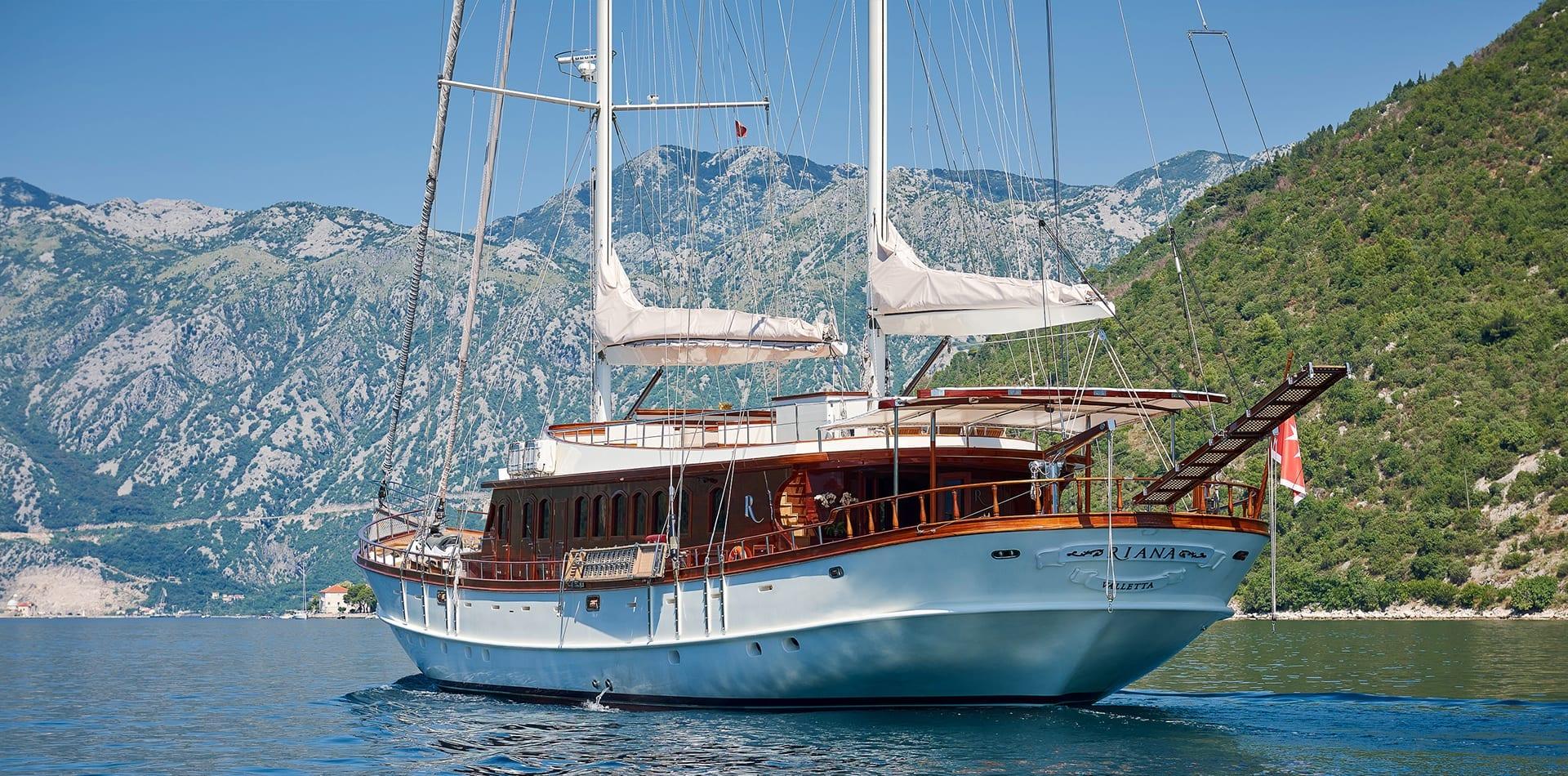 RIANA Sailing Yacht Hero Image