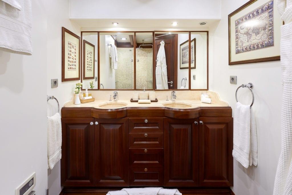 RIANA Sailing Yacht Interior Bathroom