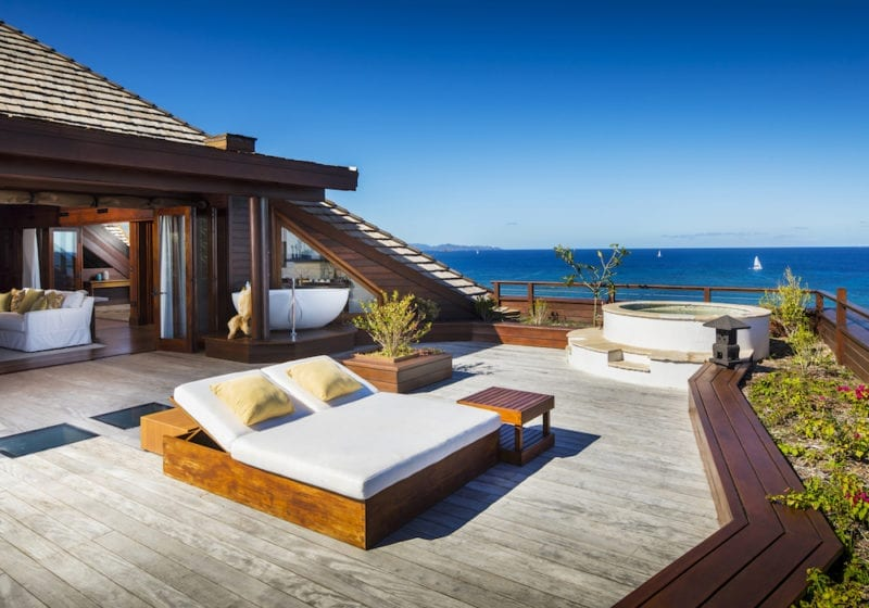 Remote Working New Office at Master Suite Necker Island, Caribbean
