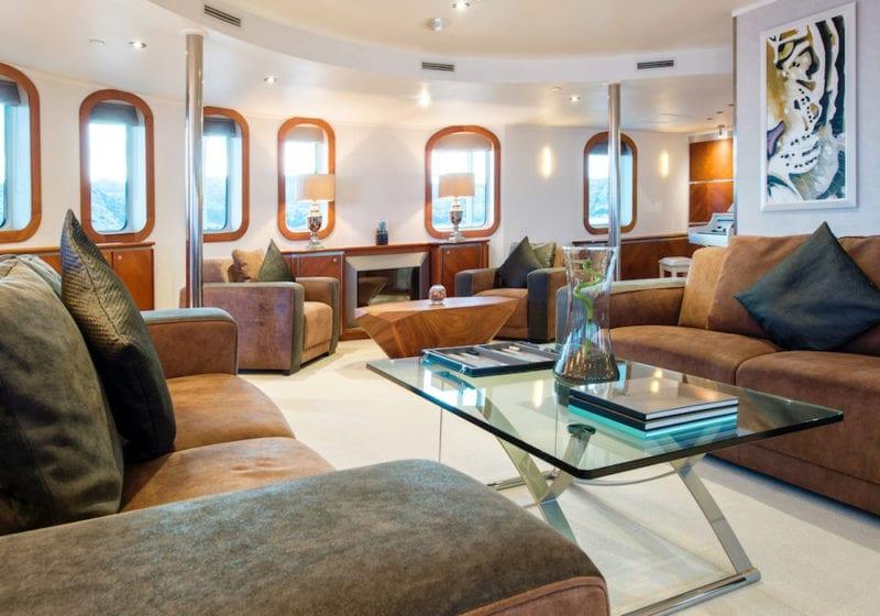 Sherakhan Yacht Interior Office Suite